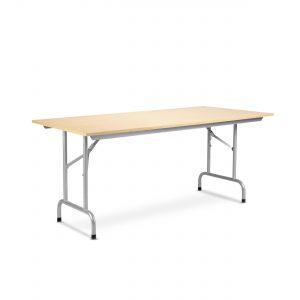 Tvirtas sudedamas stalas Rico-3 180x80 cm su stalviršiu iš drožlių plokštės.