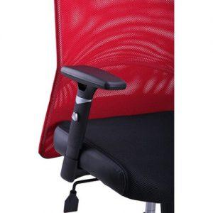 biuro kėdė Aero su reguliuojamo aukščio porankiais.