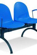 Lankytojų kėdė Amigo arm-2 alu skirta sėdėti dviems žmonėms.
