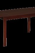 Ilginamasis valgomojo stalas Apollo medin4mis kojomis.