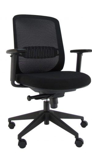 Bergamo- kompaktiška, modernaus atlošo su tinkleliu ergonominė kėdė.