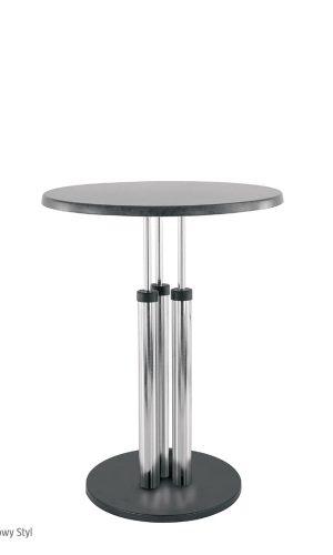 Apvalus stalas Bistro topalit atspariu stalviršiu virtuvei, kavinei, valgyklai.