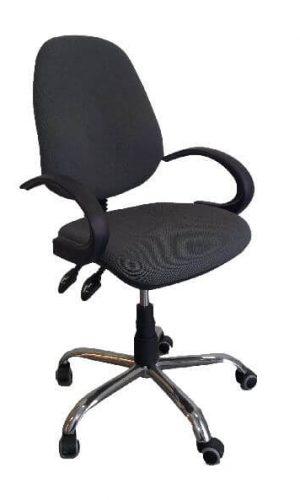 Biuro kėdė Bridge steel chrome su sinchroniniu mechanizmu.