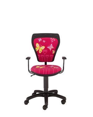 Vaikiška kėdė Ministyle GTP Butterfly su ratukais.
