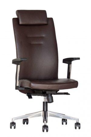 Eko odos ergonominė kėdė Elite HRU su atrama galvai.