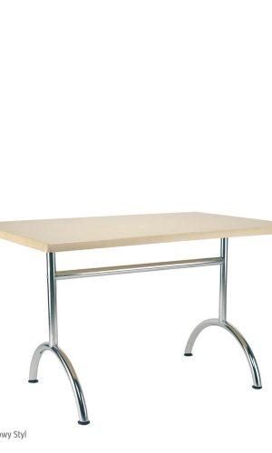 Virtuvinis stalas Gala metalinėmis kojomis.