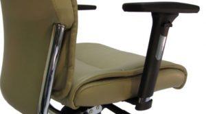 Ergonominė kėdė Jersey su 3D reguliuojamais porankiais.