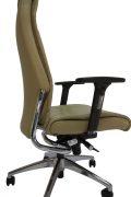 Aukšto atlošo eko odos ergonominė kėdė Jersey HB su atrama galvai.