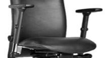 Ergonominė kėdė Kubik su reguliuojamais porankiais.