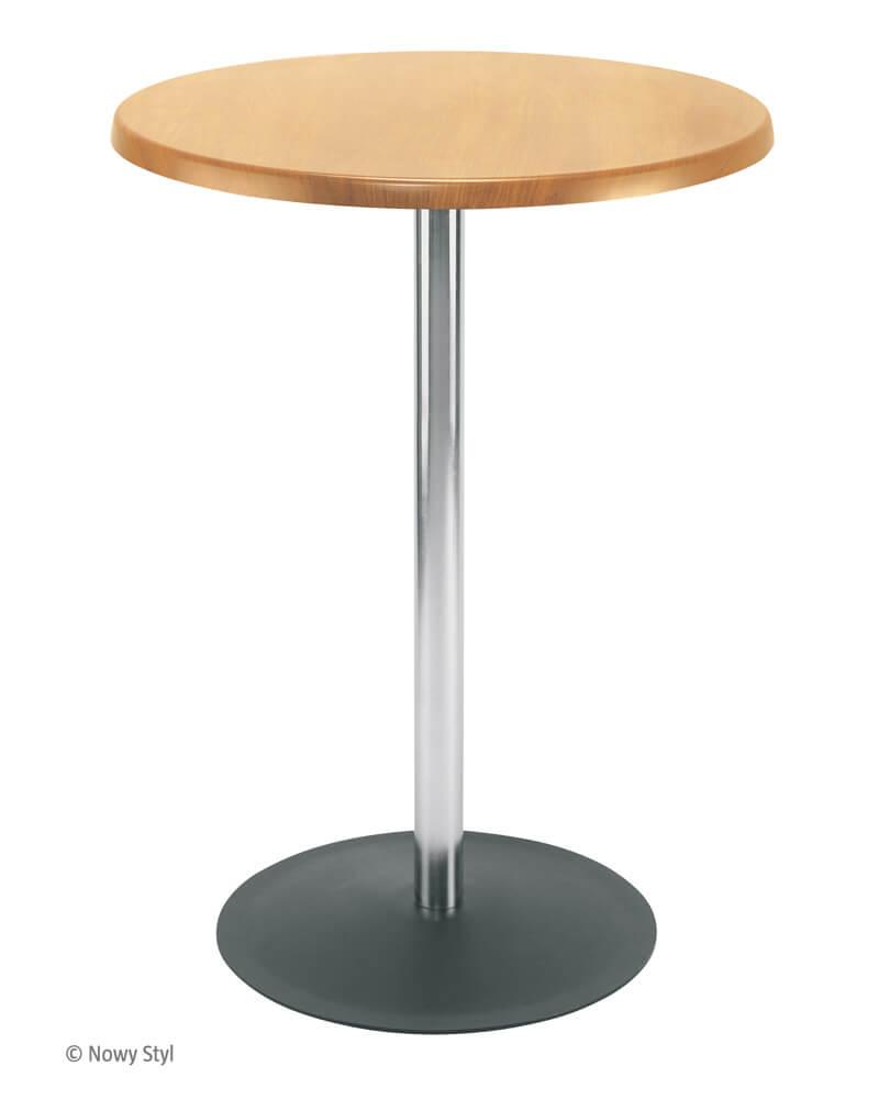 Baro stalas Lena ant vienos kojos.