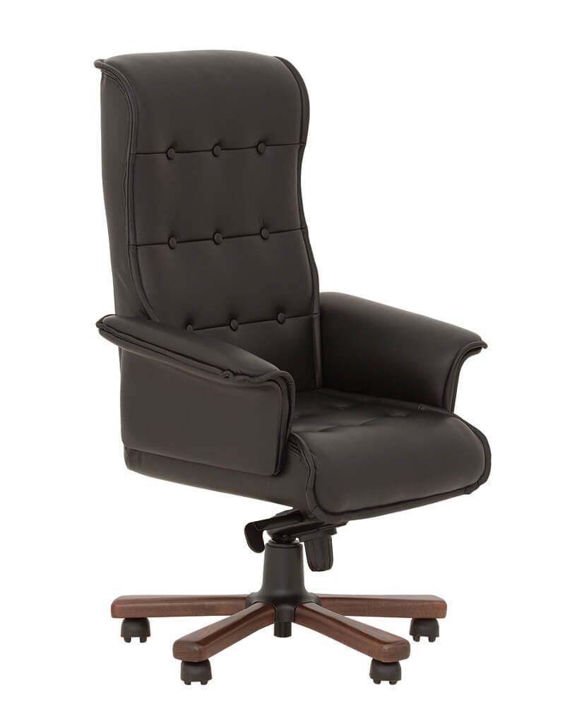 Vadovo kėdė Luxus B su masyviais porankiais.