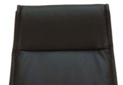 Ergonominė kėdė Landsort HB su eko odos atlošu ir sėdyne.