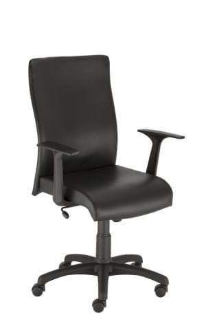 Biuro kėdė Leon GTP46 su gobelenu apmuštais atlošu ir sėdyne.