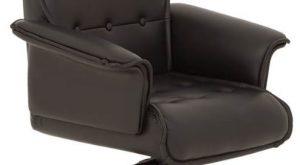 Vadovo kėdė Luxus B su paminkštintais stabiliais porankiais.