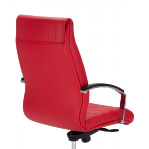 Biuro kėdės apmuštas iš abiejų pusių atlošas.