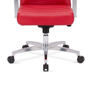Biuro kėdės poliruoto aliuminio pagrindas.