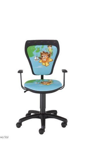 Vaikiška kėdė Ministyle GTP Pirate su ratukais.