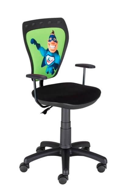 Vaikiška kėdė Ministyle GTP Superman su ratukais už gerą kainą.