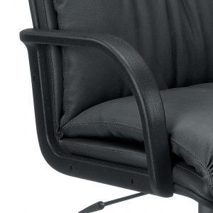 Vadovo kėdė Nadir su nailoniniais porankiais.