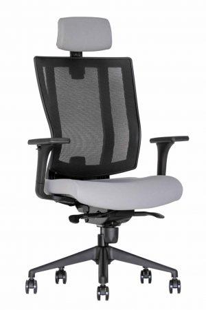 Ergonominė kėdė Promax HRU su tinklelio atlošu.