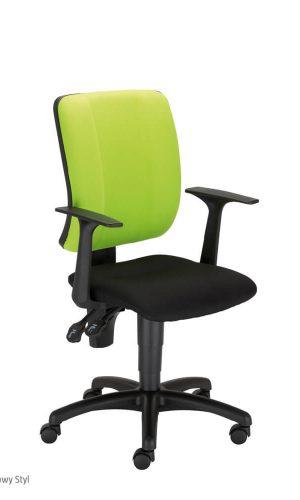 Ergonomiška kėdė Snap GTP36 su ratukais ir fiksuotais porankiais .
