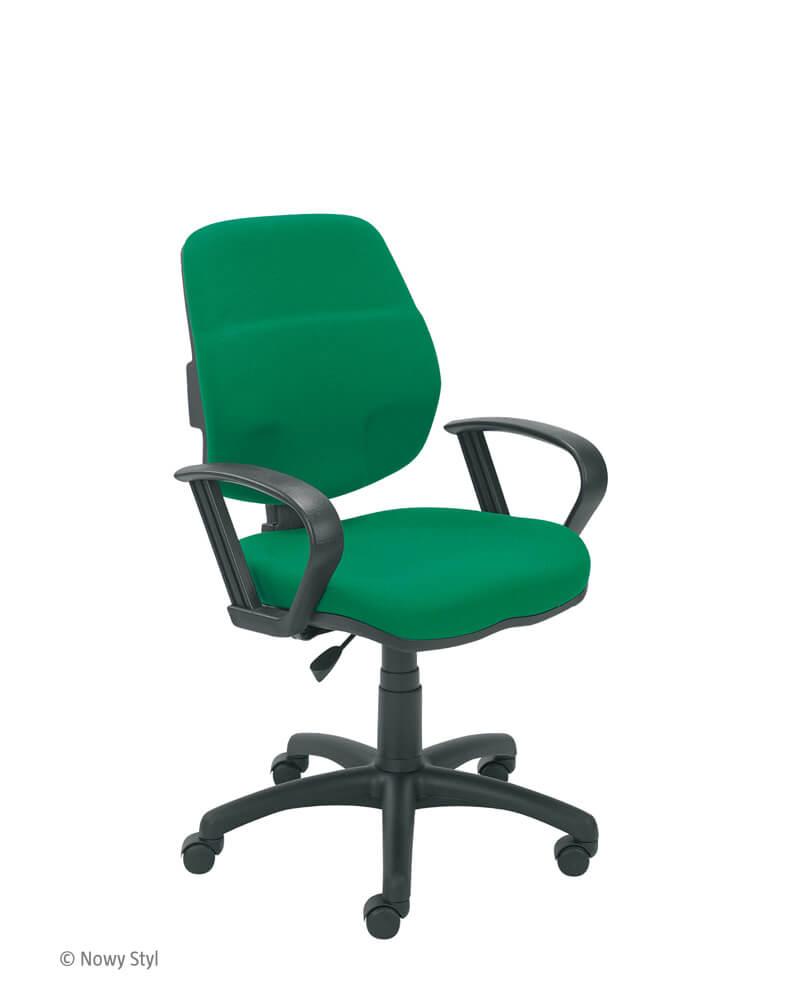 Biuro kėdė T-bar 10 GTP3 su stabiliais porankiais.
