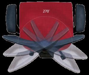 Saltvik ergonomine kede, darbuotojams ir biurams