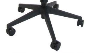 Biuro kėdės juodas nailoninis pagrindas.
