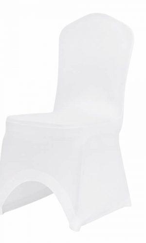 Universalus, pagamintas iš gražios ir praktiškos medžiagos aptempiamas kėdės užvalkalas.