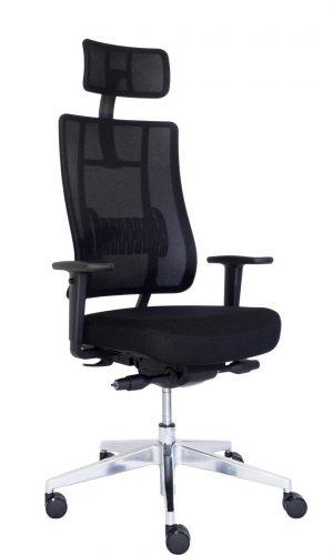 Ergonominė kėdė X-trans HRU su moderniu tinklelio atlošu.