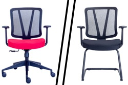 Ergonominės kėdės Dalaro ir Tyreso .