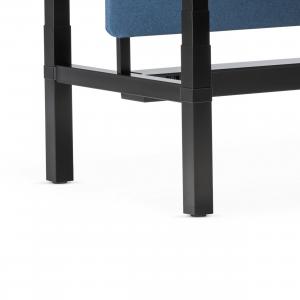 Reguliuojamo aukščio stalo eModel H-formos kojos.