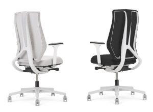Ergonominė kėdė Denuo spalviškai suderintas modellis.