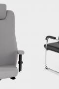 Ergonominė kėdė Sonata XXL HRU ypač tvirta ir patogi.