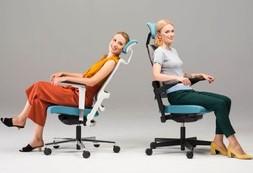 Ergonominės kėdės dirbantiems namuose.