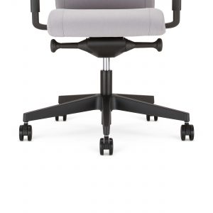 Ergonominė kėdė Viden su plastikiniu pagrindu.