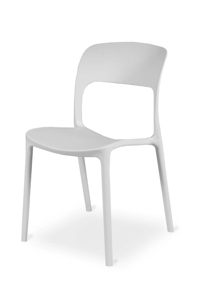Plastikinė kėdė Havana yra ypač lengva.
