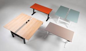 Ergonominiai reguliuojamo aukščio stalai eUP.