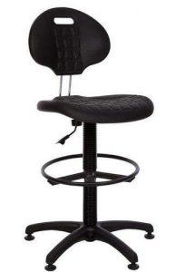 Specialios paaukštintos kėdės su poliuretano sėdyne.