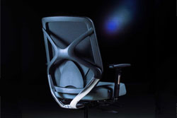 Ergonominė kėdė Hilton su sinchroniniu mechanizmu.