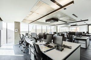 """Naujas projektas """"Hegelmann Transporte"""" biuro įrengimas."""